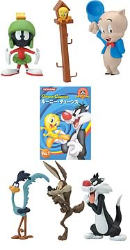 Looney Tunes Trading Figures Series 1 Case