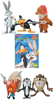 Looney Tunes Trading Figures Series 2 Case