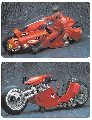 Akira: Kaneda's Motorcycle 1:12 Scale Die Cast