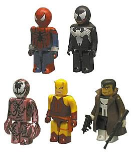 Spider-Man Kubrick Set Series 1