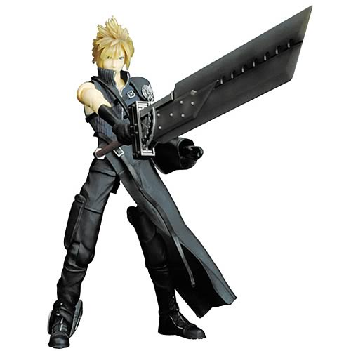Final Fantasy Cloud Strife Action Figure