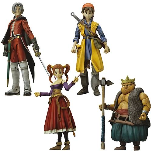 Dragon Quest VIII Series 1 Action Figure Set