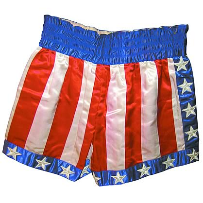 Rocky 30th Anniversary Apollo Creed Shorts Replica