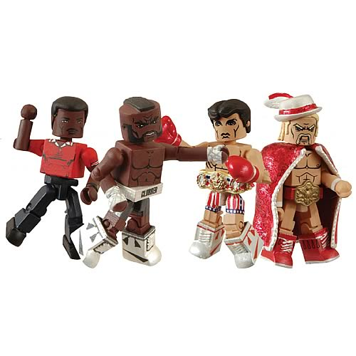 Rocky 3 Minimates Box Set