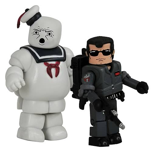 Ghostbusters SDCC 2009 Venkman and Stay Puft Mini-Figures