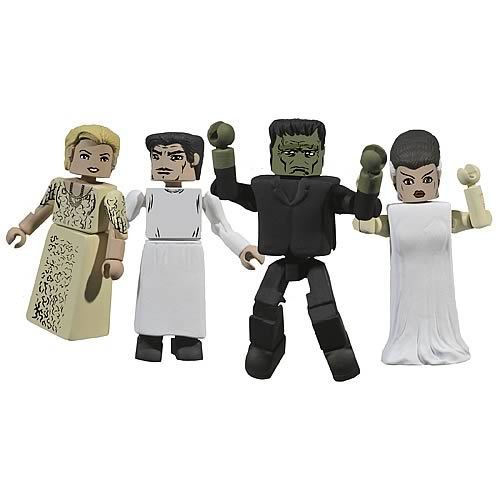 Universal Monsters Frankenstein Minimates Box Set