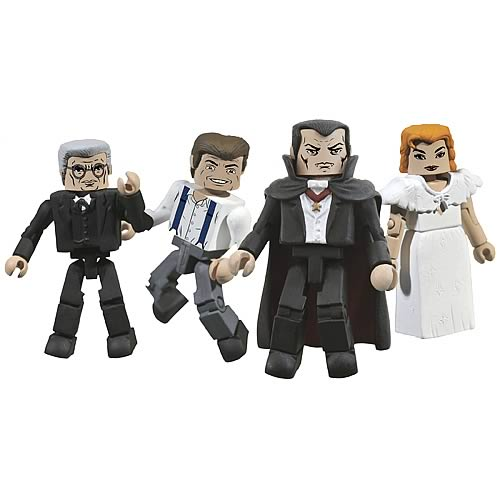 Universal Monsters Dracula Minimates Box Set