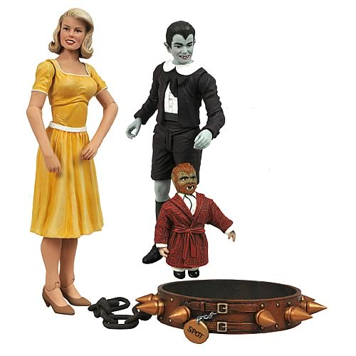 Munsters Select Eddie and Marilyn Action Figure 2-Pack
