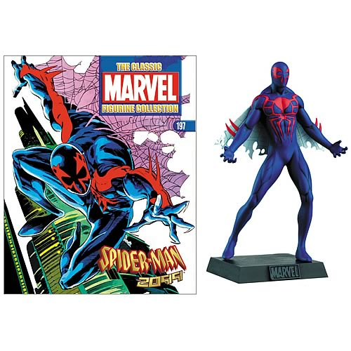 Spider-Man 2099 Collector Magazine with Figure