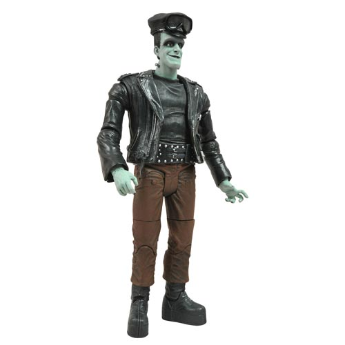 Munsters Select Hot Rod Herman Munster Action Figure