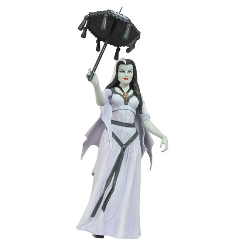 Munsters Select Raceway Lily Munster Action Figure
