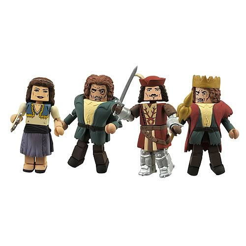 Universal Monsters Hunchback Minimates Box Set