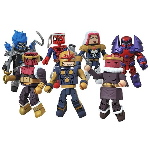 Marvel Minimates Series 50 Mini-Figure Case
