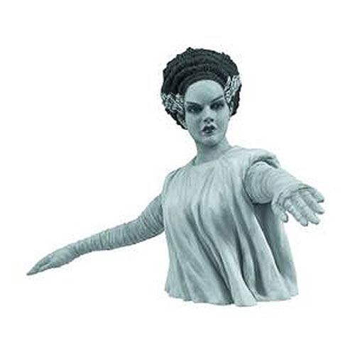 Universal Monsters Black White Bride Frankenstein Bust Bank