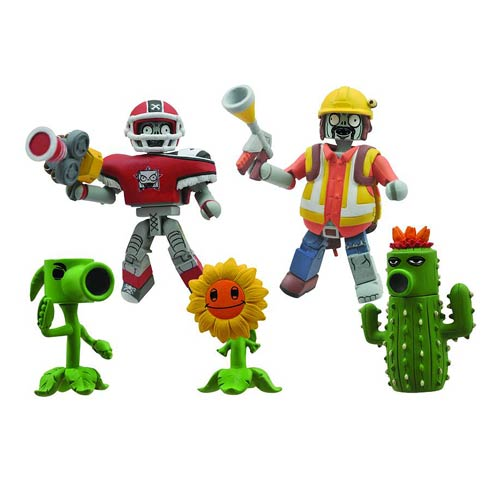 Plants vs. Zombies Minimates Garden Warfare Figure Box Set