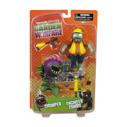 Plants vs. Zombies Garden Warfare Engineer Zombie Figure