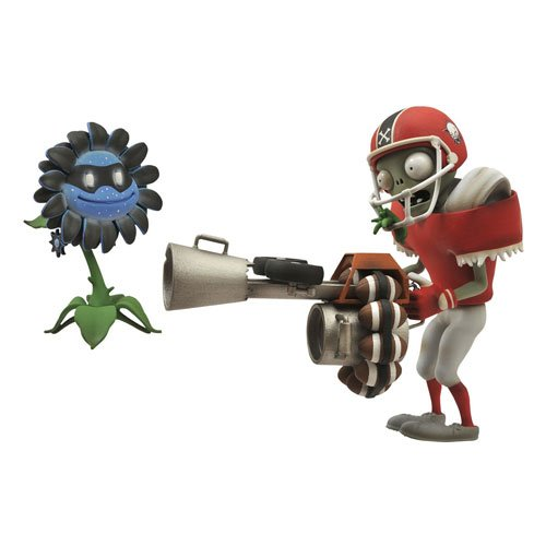 Plants vs. Zombies Garden Warfare All Star Zombie Figure