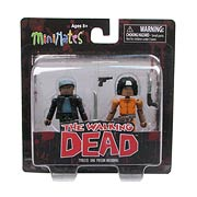 Walking Dead Minimates Series 5 Michonne & Tyreese Mini-Mate