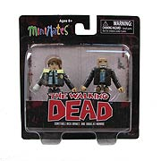 The Walking Dead Minimates Series 6 Rick and Douglas 2-Pack