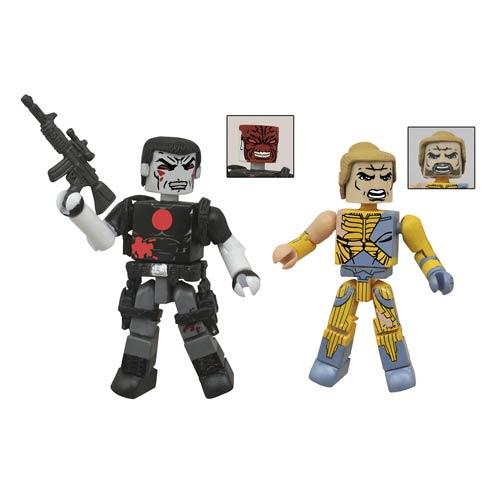 Valiant Bloodshot and X-O Manowar Minimates 2-Pack