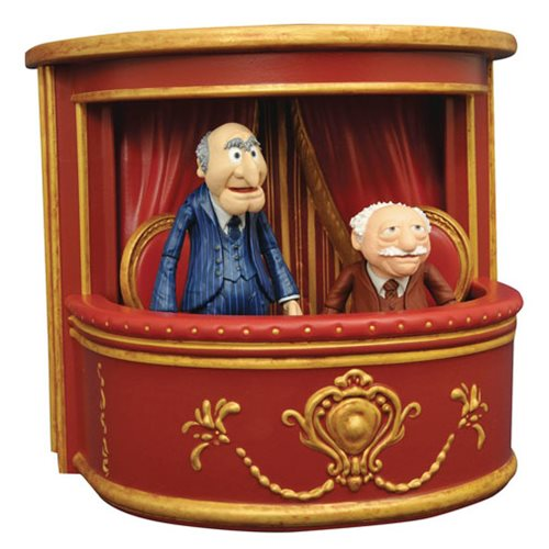 Muppets Select Series 2 Statler and Waldorf Figure 2-Pack