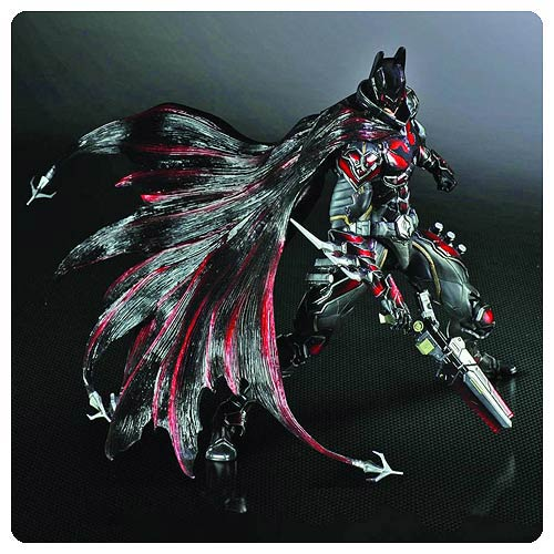 Red Batman Play Arts Kai Action Figure - Previews Exclusive