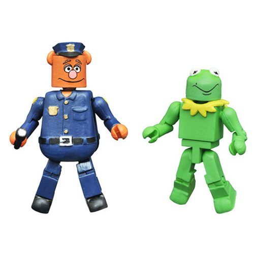 Muppets Minimates Series 3 Kermit and Fozzie 2-Pack