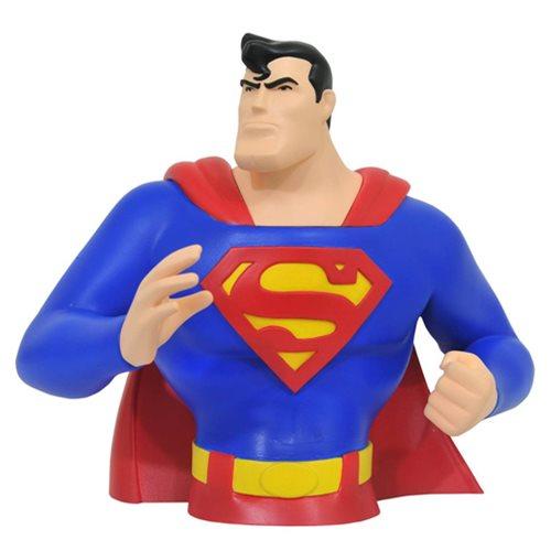 Superman Animated Bust Bank