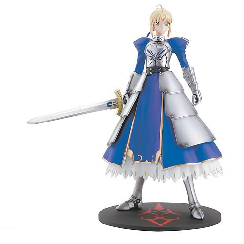 Bome Fate/Stay Night Saber Statue