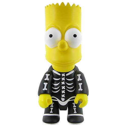 Simpsons Halloween Bart Bone 10-Inch Qee Figure