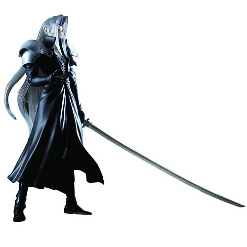 Final Fantasy VII Play Arts Sephiroth Action Figure