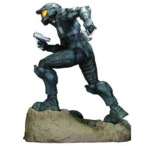 Halo 3 Steel Spartan ArtFX Statue, Not Mint