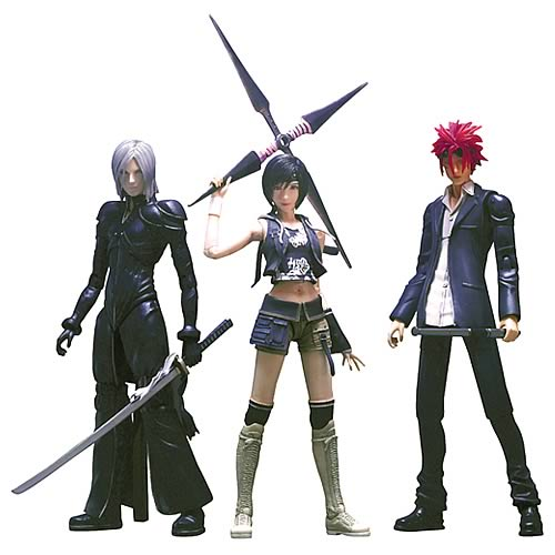 Final Fantasy Advent Children Play Arts Series 2 Figure Set
