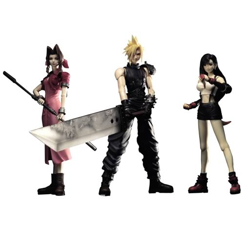 Final Fantasy VII Play Arts Action Figure Set