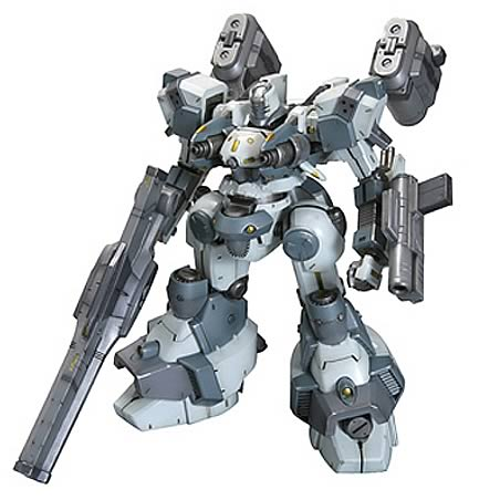 Armored Core Mirage C04-Atlas Foxeye Model Kit