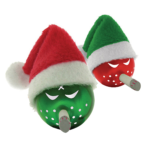 Kozik Merry Mini Bombs Green and Red Figures