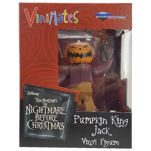 Nightmare Before Christmas Pumpkin King Vinimate Figure