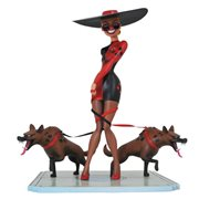 Batman TAS Premier Collection Harley's Holiday Statue
