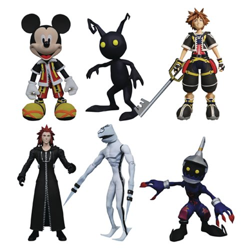 Kingdom Hearts Select Action Figure Series 1 Set