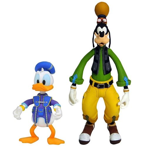 Kingdom Hearts 3 Select Series 2 Goofy and Donald Duck Action Figure 2-Pack