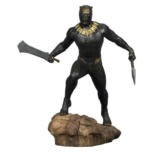 Marvel Gallery Black Panther Movie Killmonger Statue