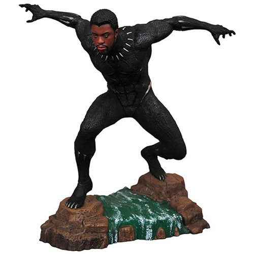 Marvel Gallery Black Panther Movie Unmasked Statue