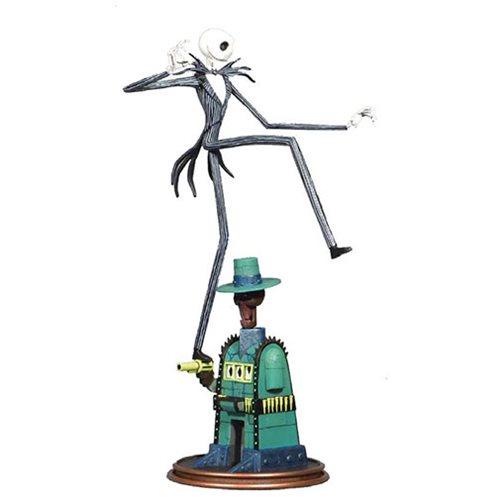 Nightmare Before Christmas Gallery Oogie's Lair Jack Skellington PVC Statue