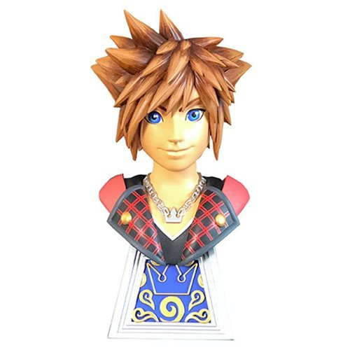 Legends in 3D Kingdom Hearts 3 Sora 1:2 Scale Bust