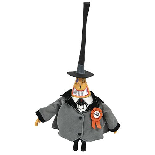 Nightmare Before Christmas Silver Anniversary Mayor Action Figure