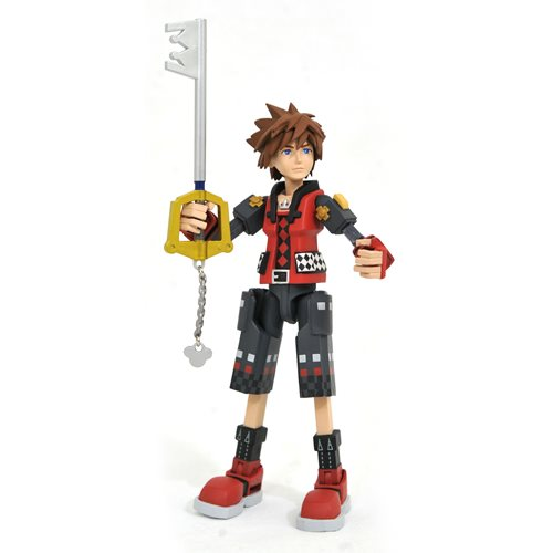 Kingdom Hearts 3 Toy Story Valor Form Sora Action Figure