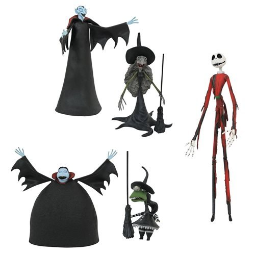 Nightmare Before Christmas Select Series 8 Action Figure Set