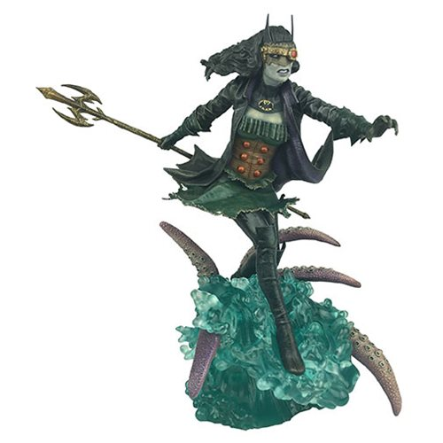 Dark Nights THE DROWNED STATUE ~ DC Collectibles DCD Metal ~ BATMAN