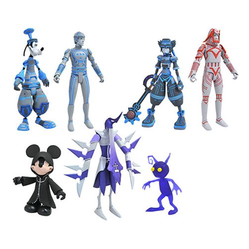 Kingdom Hearts Select Series 3 Action Figure Set