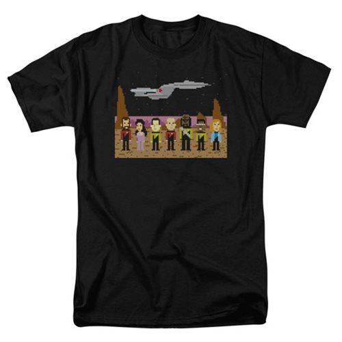 Star Trek Next Generation Trexel Crew Black T-Shirt